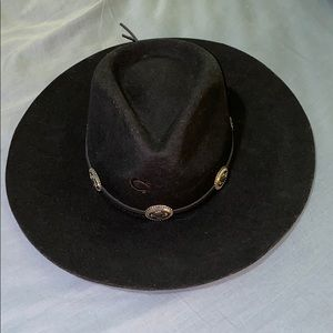 Charlie One Horse Traveler Concho Hat